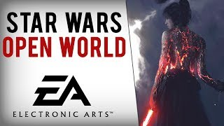 New Star Wars Open-World Game In Development With Online Elements