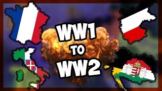 HOI4 | RUNNING A HOI GAME FROM WW1 to WW2! - WW1 P.2 [Hearts Of Iron 4]