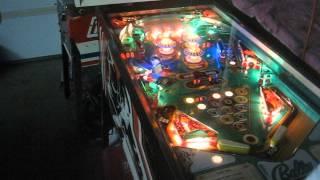 Bally Eight Ball Pinball Gameplay