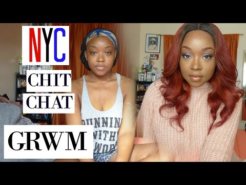 NYC Chit Chat GRWM: 2016 Recap, 2017 New Years Resolution, Love Life | SHEISROYALTY 👑