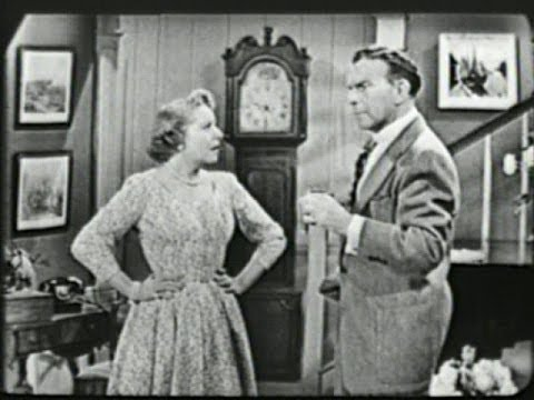 George Burns & Gracie Allen  S2E22 Gracie confuses a desk with a person Jul 3, 1952