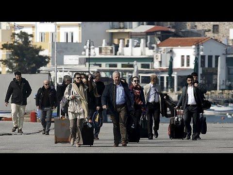 Migrants : des observateurs turcs sont arrivés à Lesbos pour superviser l'accord UE-Turquie
