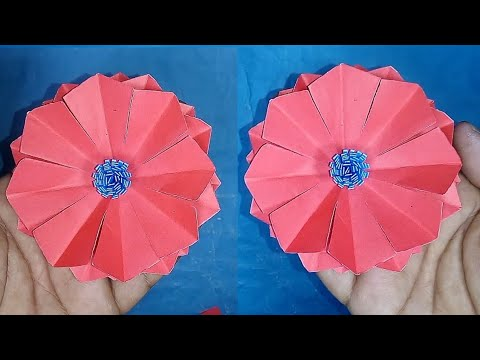 DIY: Awesome Paper Flower | Cool Idea You Should Know | Best Idea |