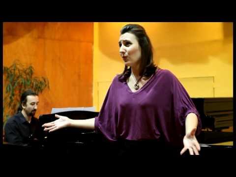 "Dusica Bijelic sings ""Allerseelen"" by Richard Strauss"