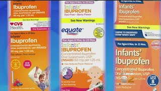 Recall Issued For Infant Ibuprofen Sold At CVS, Walmart And Family Dollar