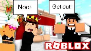 Getting kicked out at Target! | Roblox