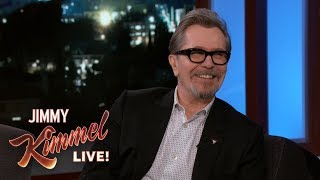 Gary Oldman Proposed to His Wife as Winston Churchill