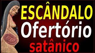 MAIS ESCÂNDALO:  OFERTÓRIO DA PATCHAMAMA DOMINGO