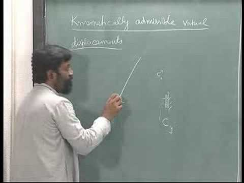 Mechanics of Solids - IITM 3.2 Virtual displacements
