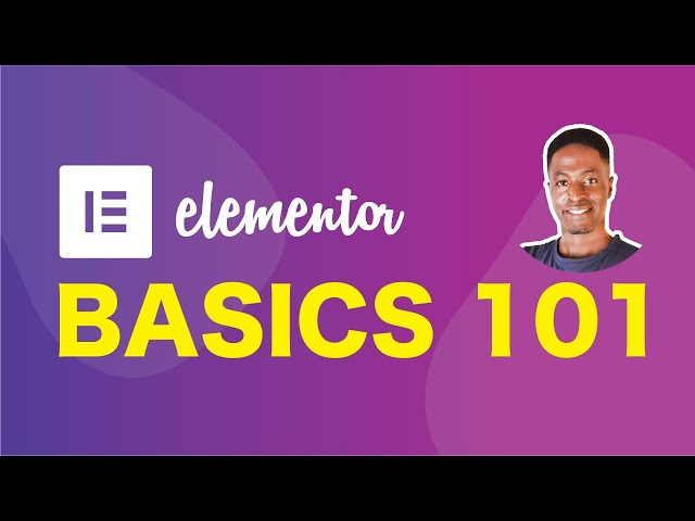 Elementor Basics For Beginners 2020 (How to use elementor page builder)