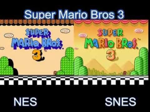 Super Mario Bros 3 Nes Vs Snes Youtube