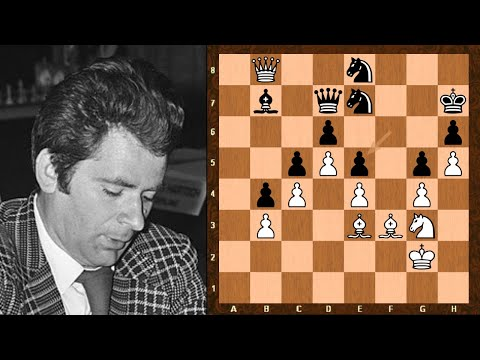 Stunning Bishop Sacrifice! || Boris Spassky Vs Jonathon Penrose || Oscar Favourites - Pt 2 Of 3