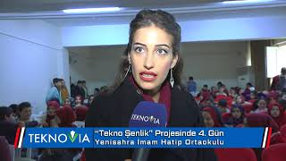 Teknoşenlik 4  Gün Ataşehir Yenisahra İHO Matematik Öğretmeni Zahide Kumrular   Teknovia