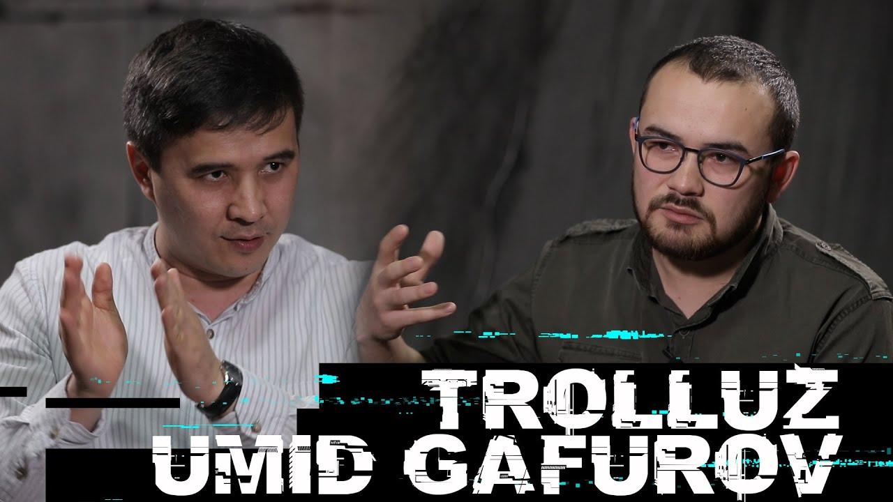 Troll.uz muallifi Umid Gafurov so'z erkinligi, majburiy mehnat va shaxsiy loyihalari haqida...