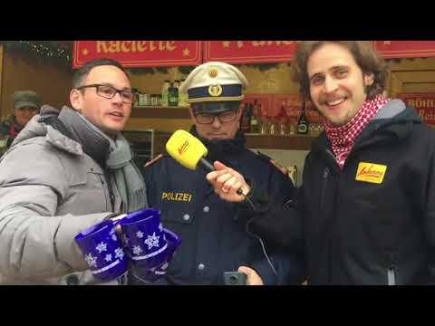 Glühwein-Promille-Test auf dem Bregenzer Weihnachtsmarkt