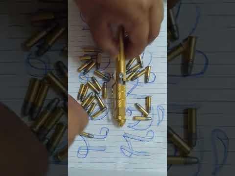 ปืนปากกา #รีวิวปืนไทยประดิษ(เคลมลิน)#เพื่อการศึกษาไม่ขาย!!!