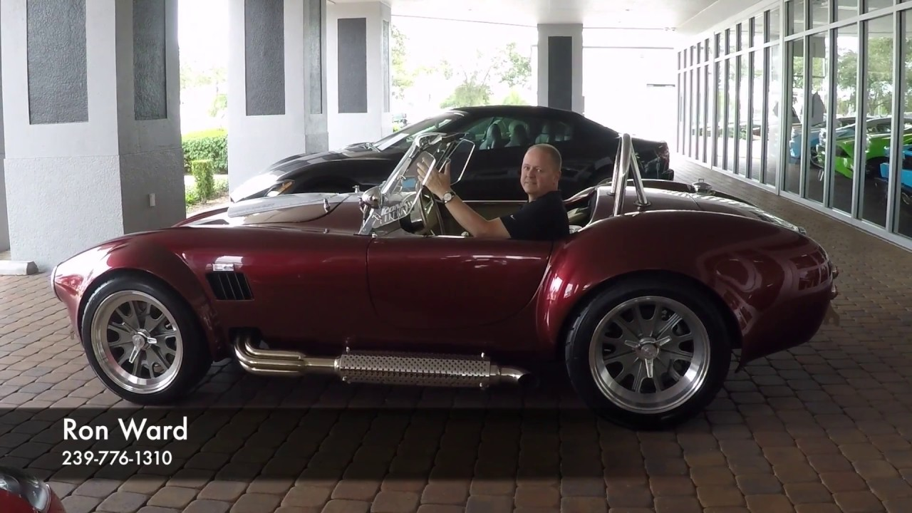 1965 BackDraft Racing 427 Shelby Replica by Naples Motorsports Inc