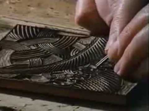 "M.C. Escher - Creating The ""Snakes"" Woodcut"