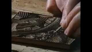 "M.C. Escher - Creating The ""Snakes"" Woodcut"