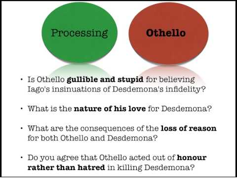 Othello information for essay