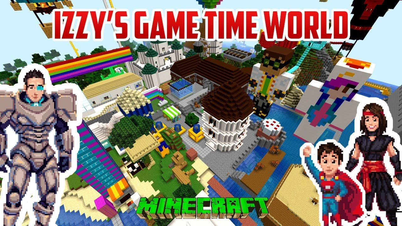 Izzy S Game Time Creative World Youtube