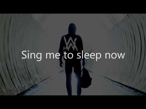 Alan Walker - Send Me To Sleep Lyrics Video