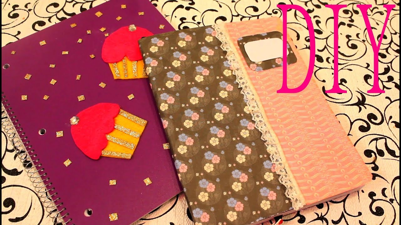 Diy decora tus cuadernos facilmente youtube for Cosas para decorar tu pieza