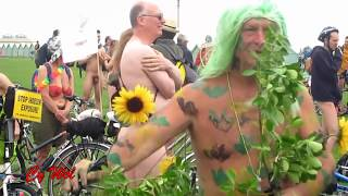 Repeat youtube video A Rider's Eye View of the World Naked Bike Ride (WNBR) Brighton 2016