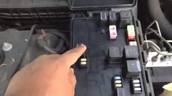 dodge charger fuse box youtube. Black Bedroom Furniture Sets. Home Design Ideas