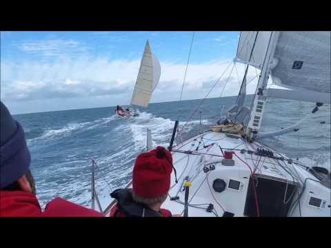 Navigation Figaro à Port-La-Forêt avec Yann Eliès - Quéguiner Sailing Team