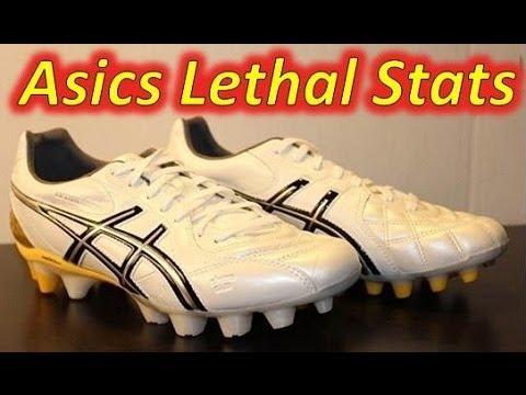 1fc2ae3810f Asics Lethal Stats WhiteYellowBlack - Unboxing + On Feet - YouTube