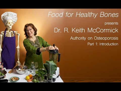 Irma Jennings, INHC And Dr. R. Keith McCormick Discuss Osteoporosis Part 1