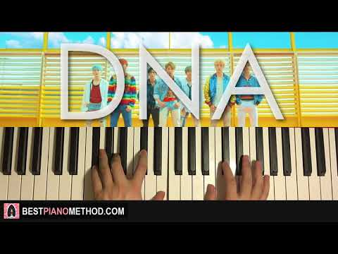 HOW TO PLAY - BTS (방탄소년단) - DNA (Piano Tutorial Lesson)