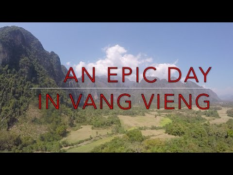 AN EPIC DAY IN VANG VIENG | LAOS TRAVEL VLOG