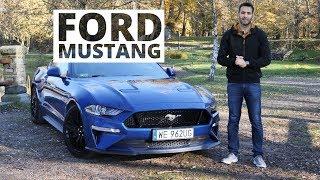Ford Mustang GT 2018 - nie obudzi sąsiada... o ile ten zaśnie z zazdrości