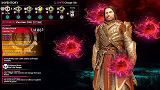 SHADOW OF WAR - UNIQUE BLOOD TALION REINFORCE & AMBUSH OVERLORDS DIFFICULTY NEMESIS IN DESERT
