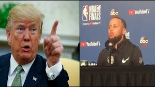 "LeBron James&Stephen Curry Diss Donald Trump' Visit:""We Aren't His Supporter !"""