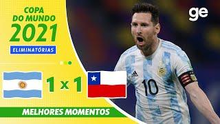 Аргентина  1-1  Чили видео