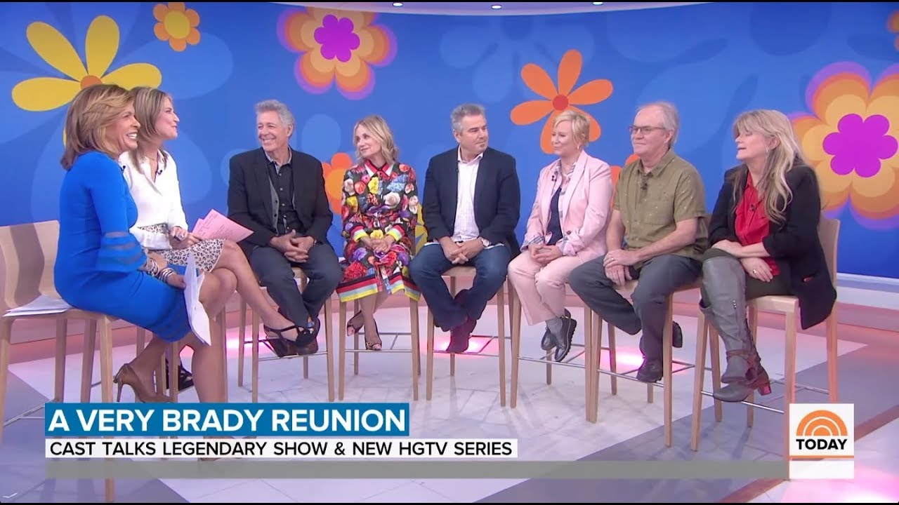 Download The Brady Bunch Reunite on The Today Show - 3rd Hour - April 10th, 2019