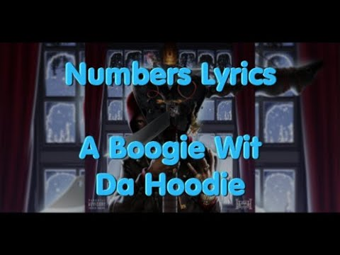 Numbers Lyrics By Boogie Wit A Hoodie Featuring Roddy Ricch & Gunna & London On Da Track