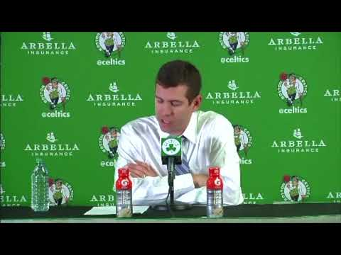 Brad Stevens on Grizzlies blowout.