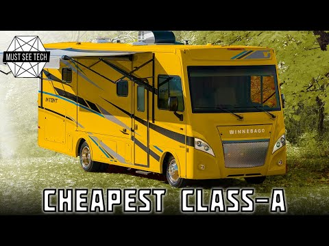 10 Cheapest Сlass-A Motorhomes and Integrated RVs you Can Own in 2020