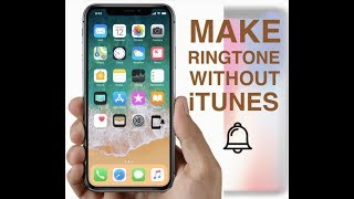 Setting up any song as ringtone on iphone model 5,5s,6, 6s, 7, 7plus, iphonex, with ios11, ios11.2 even previous versions of ios using garage band.