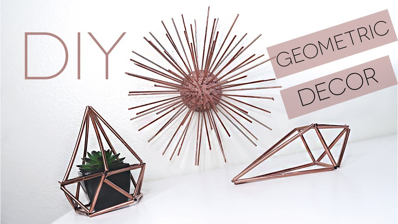 Diy Geometric Room Decor Himmeli Orb With Straws Pinterest