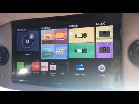 GMC Explorer Conversion Van 29 Video TV Display