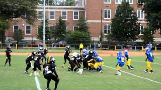 2015 lamond riggs steelers tiny mites vs woodridge warriors