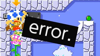 Mario Maker Online actually BROKE because of this Level...