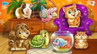 Развивающий мультик для детей.Мультфильм учим домашних животных