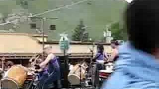 I recorded this small sample of the music in Jackson Hole, Wyoming.