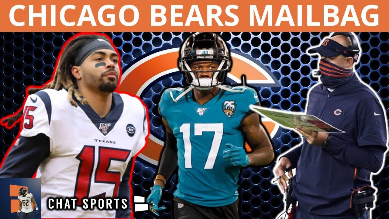Chicago Bears Rumors: Sign Will Fuller, DJ Chark, Christian Kirk In 2022? Matt Nagy Bad Playcaller?
